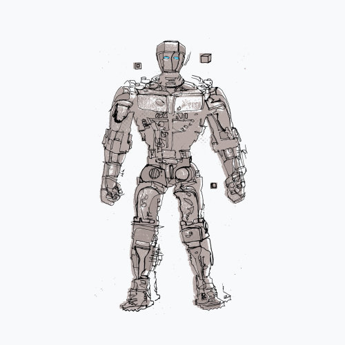 Robot Illustration by Ben Tallon