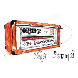Orange amplifier illustration by Ben Tallon