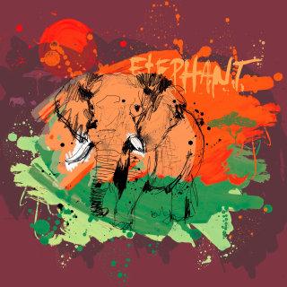 Elephant illustration by Ben Tallon