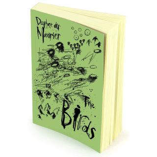 The birds book jacket design