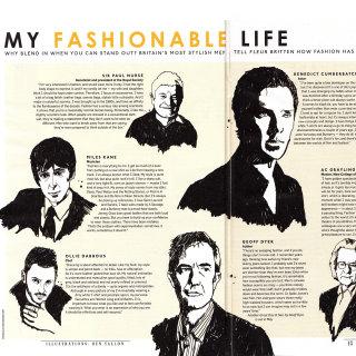 Sunday Times Style Magazine feature on Britain's most stylish men