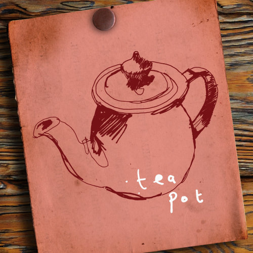 Tea pot illustration by Ben Tallon