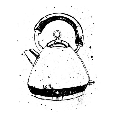 Line hotwater kettle