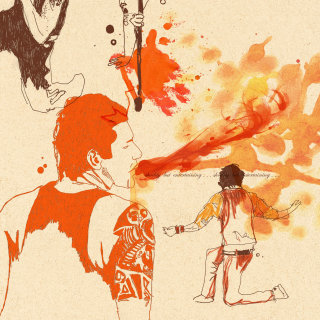 Conceptual design for Juggling and fire breathing