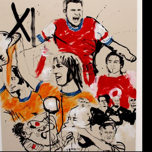 Athletics illustration by Ben Tallon