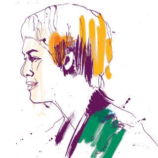 Portrait art by Ben Tallon