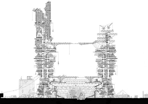 Architecture of building constructions
