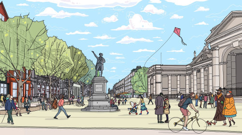 Places & Locations College Green,建筑插图