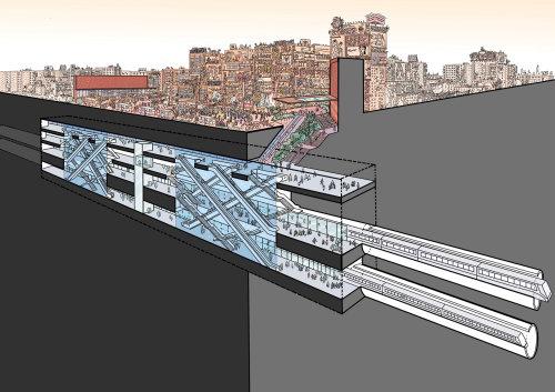 城市火车站建筑设计