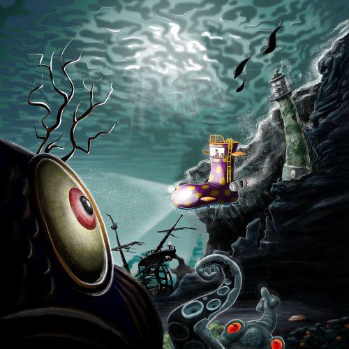 cartoon artwork Hannah the Spanner book series