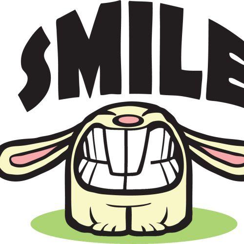 Smile cartoon illustration