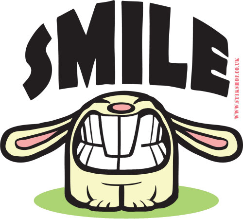 Smile cartoon illustration
