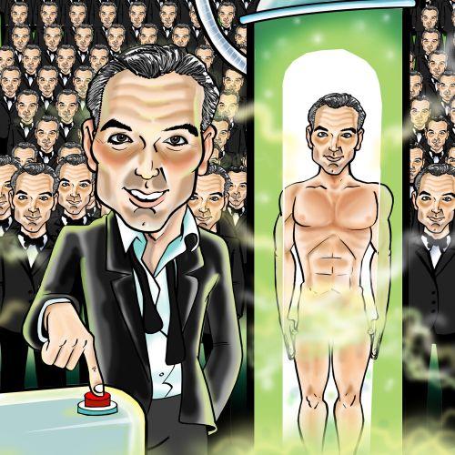 comic strip Hellebrities Artwork