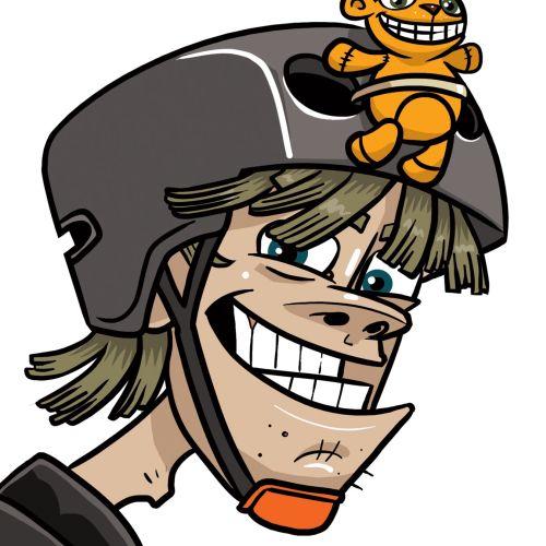 Travel Code Character illustration