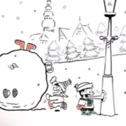 Christmas campaign Bite Animation video