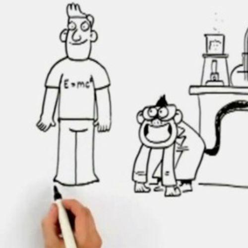 4 bite adverts line animation