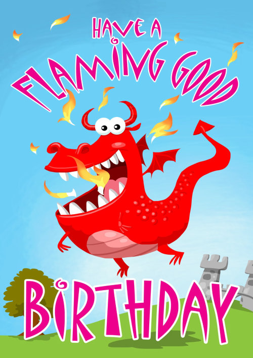 Card Gnome character design Flaming Good Cartoon