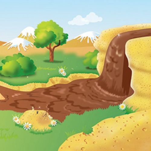 Barny Biscuits Wall illustration