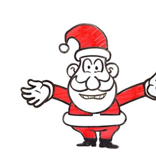 Santa claus animation by Bill Greenhead