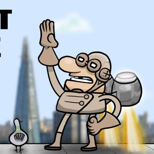 Rocket Bloke Breaks London children character animation