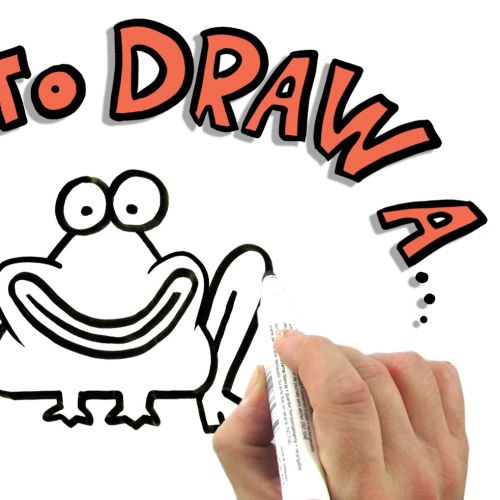 Character animation how to draw a frog