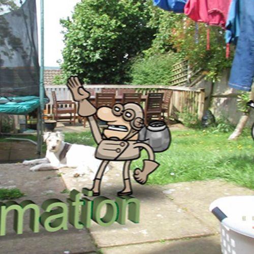 3d tracker animation