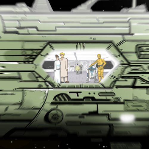 3d Character animation star wars