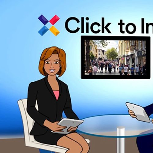 Website Launch Corporate Animation