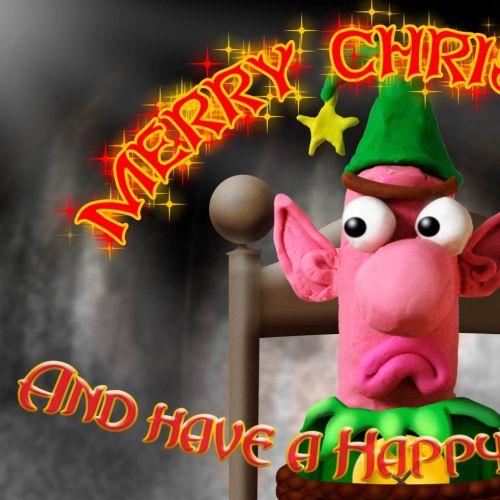 Nobby Christmas Ecard animation
