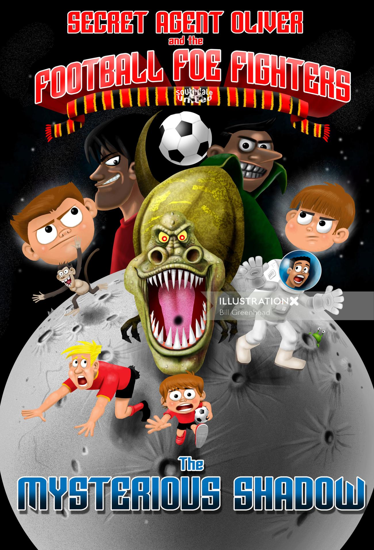 Foe Fighters Cover for children book