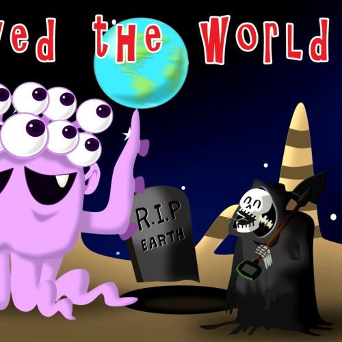 Animation music video Aliens saved the world