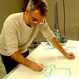 Bill Greenhead's Photo - Cartoon Illustrator und Animator. Vereinigtes Königreich