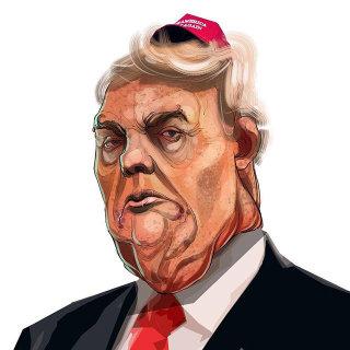 Donald Trump Caricature