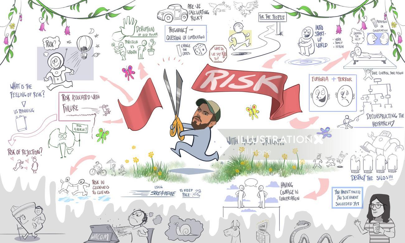 Risk Livescribe Illustration