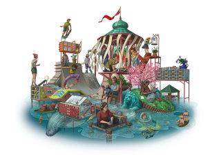 Fantasy Illustration By Bill Hope