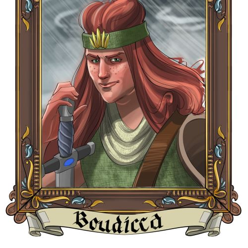 Portrait of Queen Boudicca