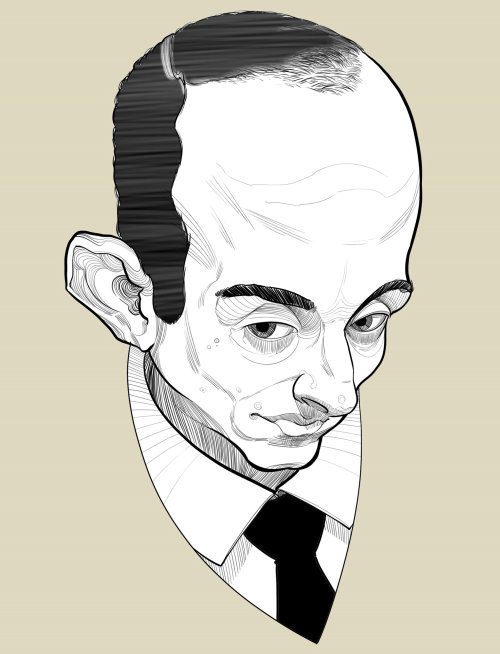 Stephen Miller Caricature