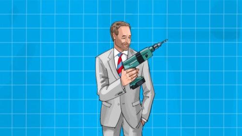 Product Marketing executive technical animation