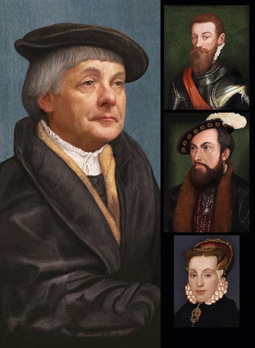 Portrait of British Royal People
