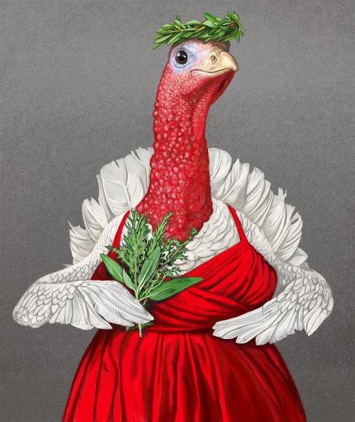 Anthropomorphic illustration for Waitrose Heston Range