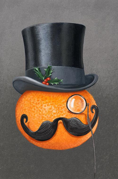 Decorative Orange fruit