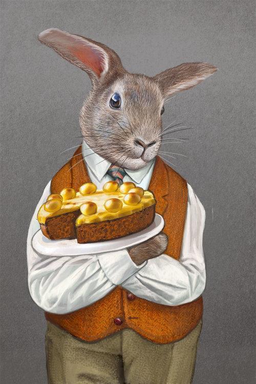 Brer Rabbit animal illustration