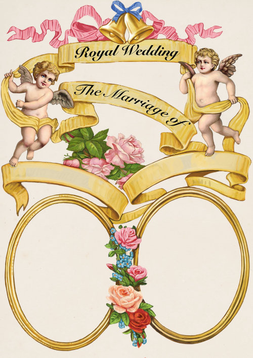 Royal Wedding Invitation Card Pattern