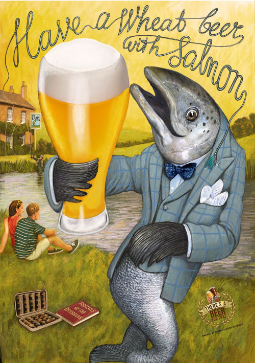Britain's Beer Alliance advertising poster