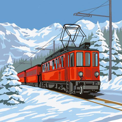 Graphical Train illustration
