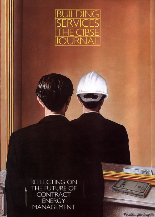 The Cibse Journal Magazine cover art