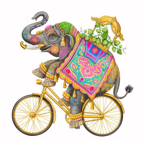 Animal Elephant performing Circus