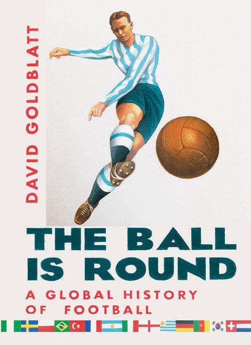 A bola é redonda ilustração de capa de livro