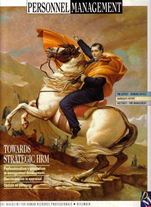 People Magazine cover art