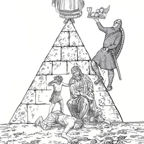 Bob Venables Ilustrador internacional de pastiche. Reino Unido